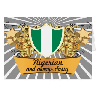Classy Nigerian Card