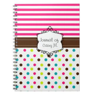 Classy Notebooks By The Frisky Kitten