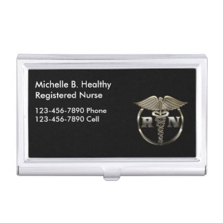 Classy Nurse Medical Business Card Holder