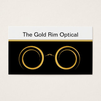 Classy Optical Business Cards