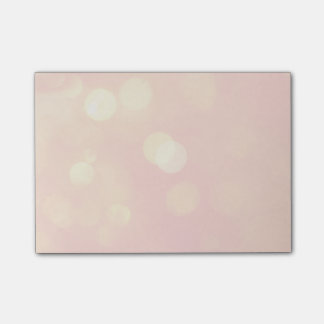 Classy Pink Post-it Notes