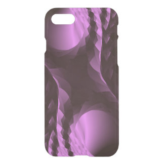 Classy Purple Black Abstract iPhone 7 Case