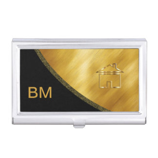 Classy Real Estate Business Card Case