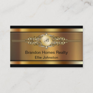 Real estate business cards printing zazzle ca classy real estate business cards reheart Choice Image