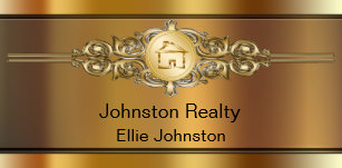 Real estate business cards printing zazzle ca classy real estate business cards reheart Image collections