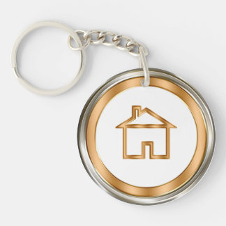 Classy Real Estate Keychains