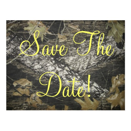 Classy Redneck Save The Date! Post Cards