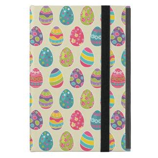 Classy Retro Easter Eggs Happy Easter Day iPad Mini Covers