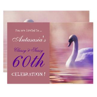 CLASSY SASSY  AT 60 INVITE