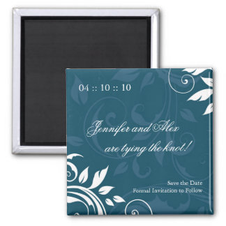 Classy Save the Date Wedding Magnet