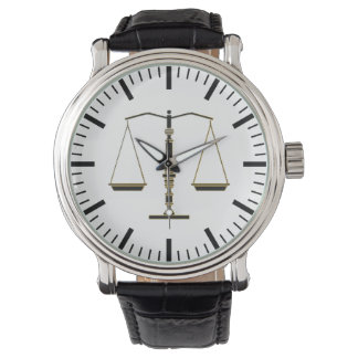 Classy Scales of Justice | Law Best Gifts Watch