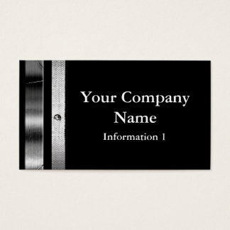 Classy Silver Frame Business Cards