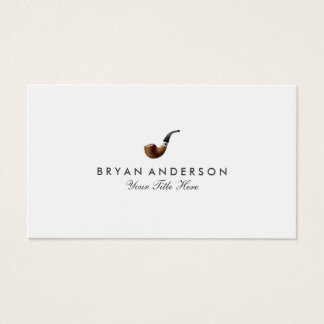 Classy Smoking Pipe Business Card