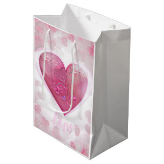 Classy sweetheart gift bag