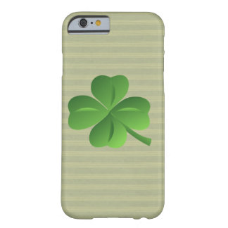 Classy Trendy  Irish Lucky Shamrock Barely There iPhone 6 Case