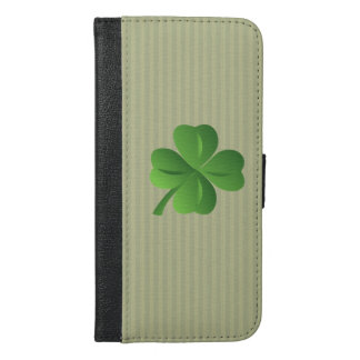 Classy Trendy  Irish Lucky Shamrock iPhone 6/6s Plus Wallet Case