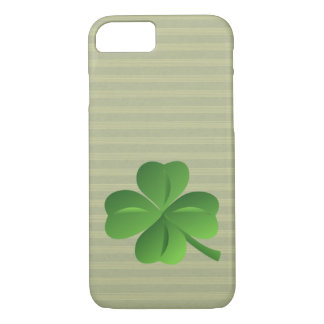 Classy Trendy  Irish Lucky Shamrock iPhone 8/7 Case