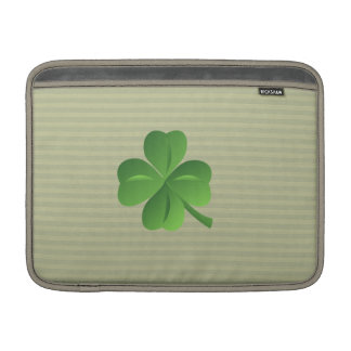 Classy Trendy  Irish Lucky Shamrock Sleeve For MacBook Air