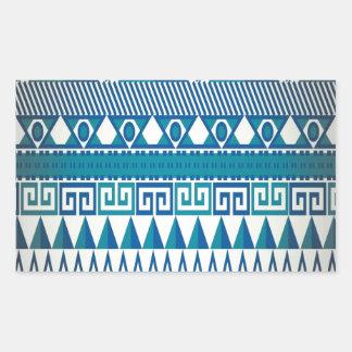 Classy Vintage Design Aztec Art Sticker