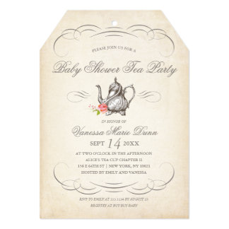 """Classy Vintage Tea Party 