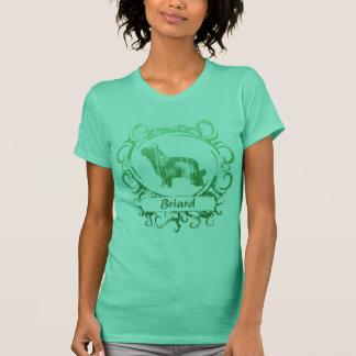 Classy Weathered Briard T-Shirt