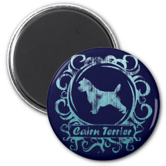Classy Weathered Cairn Terrier Magnet