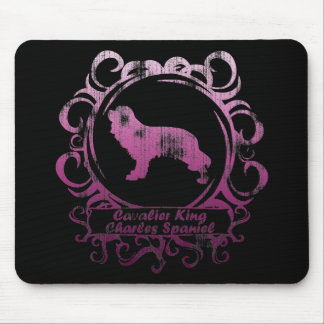 Classy Weathered Cavalier King Charles Spaniel Mouse Pad
