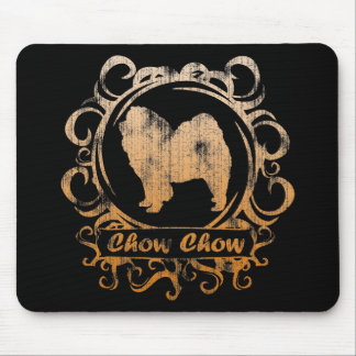 Classy Weathered Chow Chow Mouse Pad