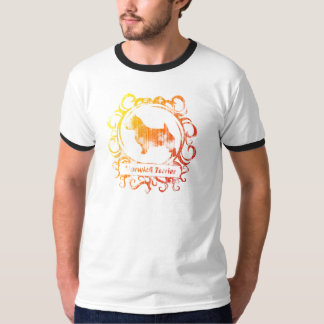 Classy Weathered Norwich Terrier Tee Shirts