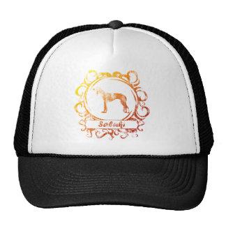 Classy Weathered Saluki Trucker Hat