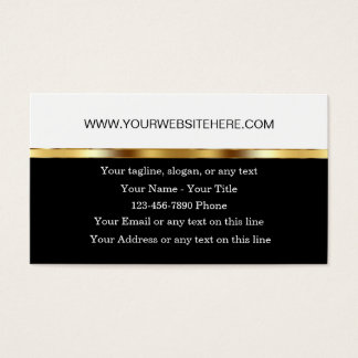 Classy Website Business Theme Business Card