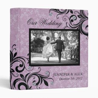 Classy Wedding Album Vinyl Binder