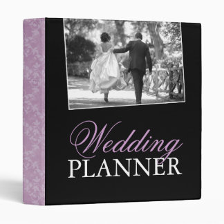 Classy Wedding planner Vinyl Binder