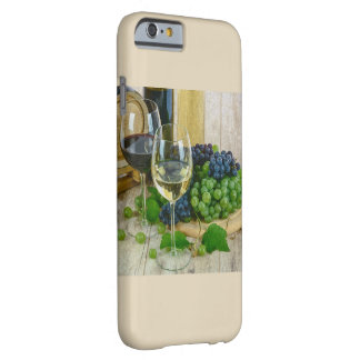 Classy Wine Theme Barely There iPhone 6 Case