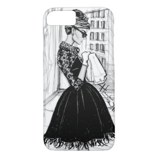 Classy woman. iPhone 7 case