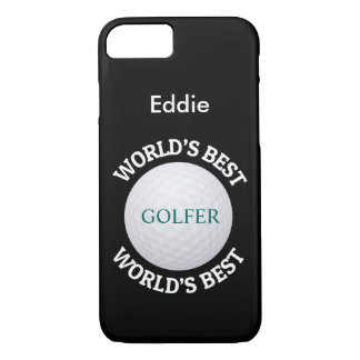 Classy World's Best Golfer iPhone 7 Case