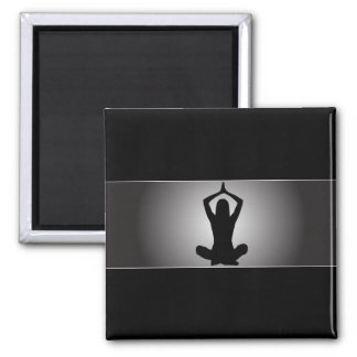 Classy Yoga Magnet