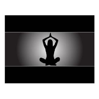 Classy Yoga Post Card