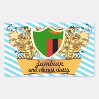 Classy Zambian Sticker