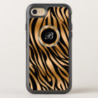 Classy Zebra Monogram OtterBox Symmetry iPhone 8/7 Case