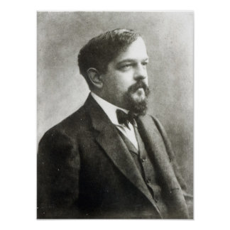 Claude Debussy, c.1908 Poster