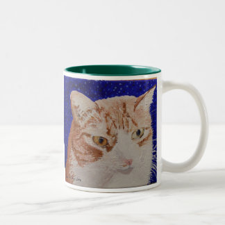 Claude Face Painting Two-Tone Coffee Mug