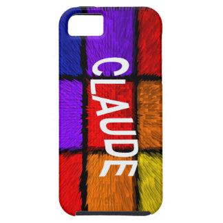 CLAUDE iPhone 5 CASE