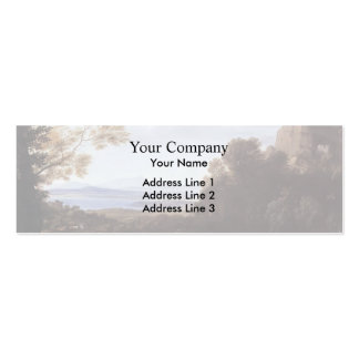 Claude Lorrain- Landscape with Apollo and Mercury Business Cards