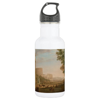Claude Lorrain - Ruins of the Roman forum 532 Ml Water Bottle