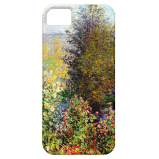 Claude Monet A Corner of the Garden At Montgeron iPhone 5 Covers
