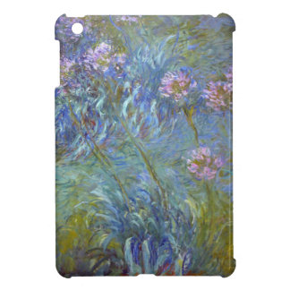 Claude Monet - Agapanthus Classic Flowers Painting iPad Mini Case