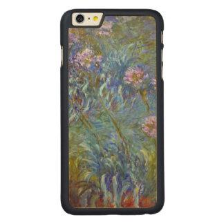 Claude Monet Agapanthus Fine Art Floral GalleryHD Carved Maple iPhone 6 Plus Case