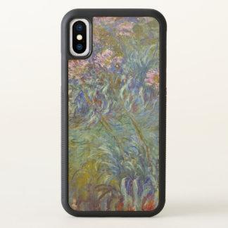 Claude Monet Agapanthus Floral Fine Art GalleryHD iPhone X Case