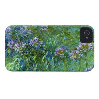 Claude Monet: Agapanthus iPhone 4 Case-Mate Cases